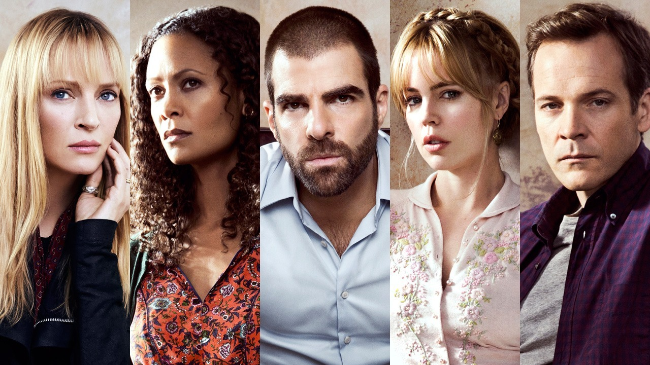 Uma Thurman, Thandie Newton, Zachary Quinto, Melissa George, Peter Sarsgaard
