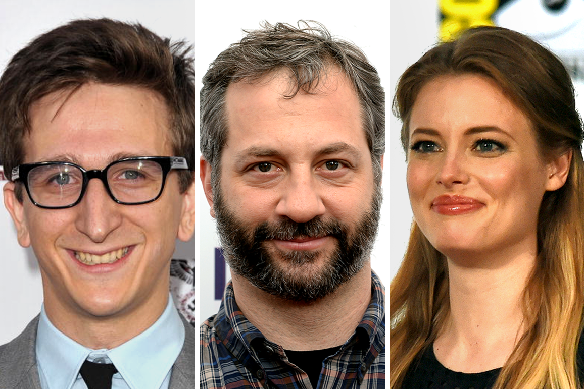 Paul Rust, Judd Apatow, Gillian Jacobs.
