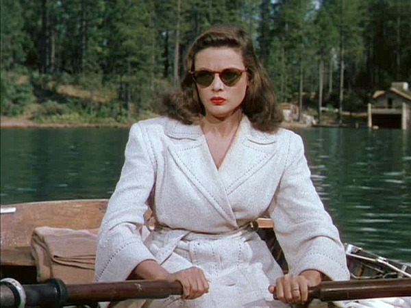 Gene Tierney, Leave Her to Heaven'da.