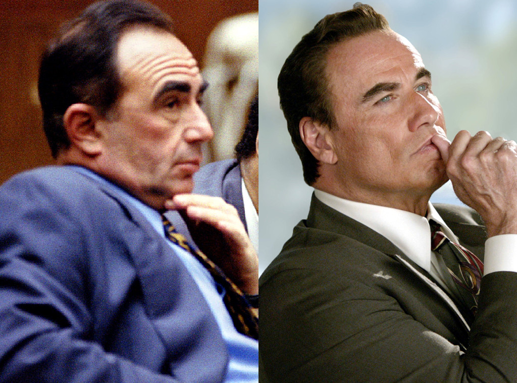 Robert Shapiro ve diziden John Travolta.